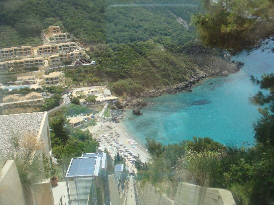 SENSIMAR Grand Mediterraneo Resort & Spa by Atlantica: View from lift