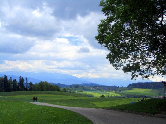 Gurten - Park im Grünen: View at Gurten