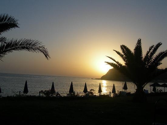 Santa Maria, Italien: Sunset view