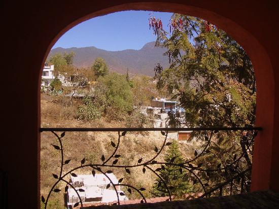 Casa Machaya Oaxaca Bed & Breakfast: Inviting patio