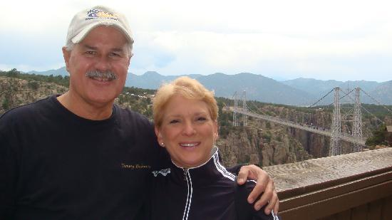 Manitou Springs, CO: Royal Gorge Suspension Bridge in background