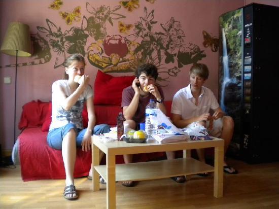 Paraiso Travellers Hostel: Im Gemeinschaftsraum