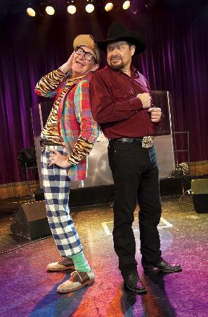 Moe Bandy Show: Kiddin' around with Moe and Harley Worthit Branson MO