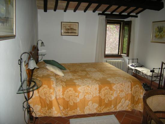 Podere Cogno: Bedroom of suite