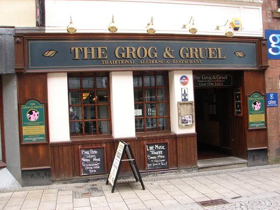 The Grog & Gruel Outside