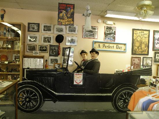 The Laurel and Hardy Museum of Harlem, Georgia: The Motor Car