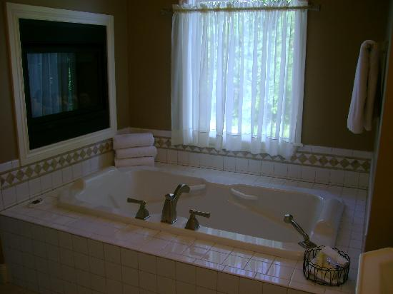 Rocheport, MO: large whirlpool tub