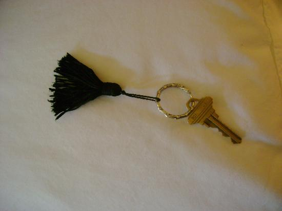 Amber House Bed and Breakfast: even the key is romantic!