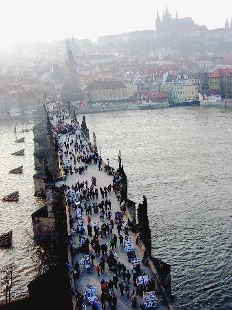 Prague, Czech Republic: St. Charles Bridge