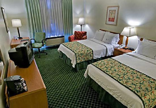 Fairfield Inn St. George: Clean comfortable beds and rooms!