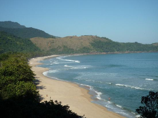 Hotel Pousada Guarana: View from the jungle trek to the beach