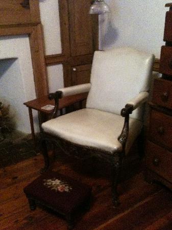 New Market B&B: chair