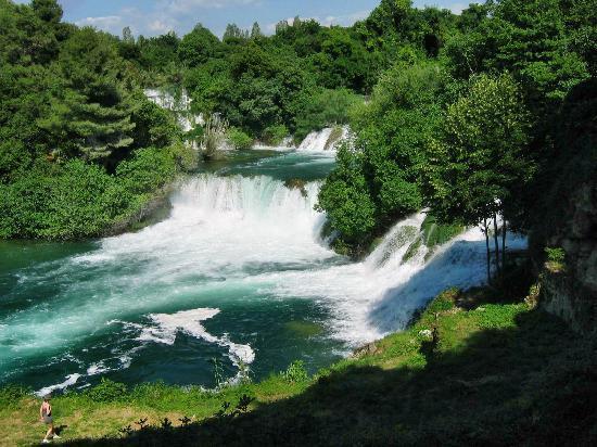 Водице, Хорватия: KRKA falls 2