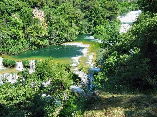 Водице, Хорватия: KRKA falls 3