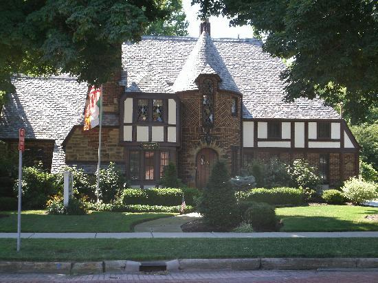 ‪‪Fitzgerald's Irish Bed & Breakfast‬: The front view of the B&B‬