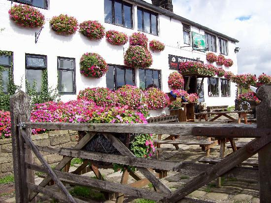 The Pack Horse Inn: in the summer