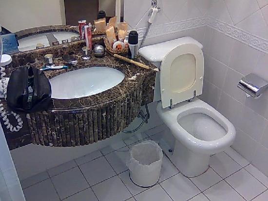 Radisson Sao Paulo Vila Olimpia: The bathroom.
