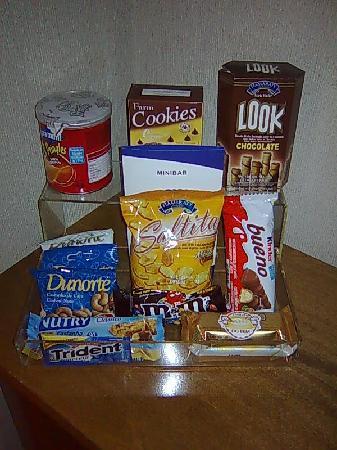 Radisson Sao Paulo Vila Olimpia: Snacks.