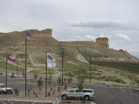 Green River, WY: front of hotel