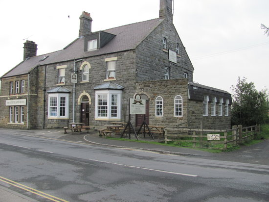 The Goathland Hotel: Goathland Hotel, setting for the TV series Heartbeat.  Looks great on the outside but falls shor