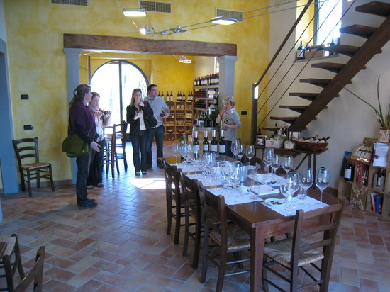 Tuscan Wine School - Siena: The first stop
