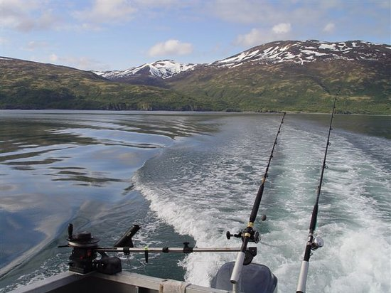 Alaska's Kodiak Island Resort: Alaskan Fishing Scenery