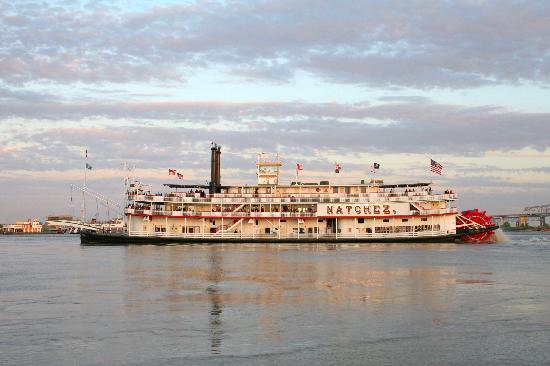 Louisiane : Natchez River Boat, New Orleans