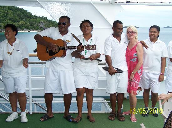 Denarau Island, Fiji: 'JAMMING WITH THE BAND'