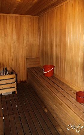 Jelutong, Malaysia: The Sauna