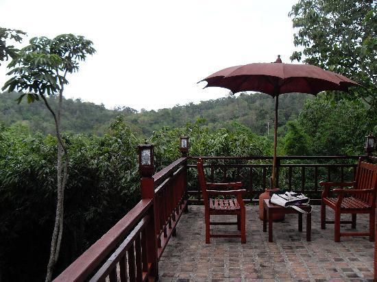 Suanthip Vana Resort: View from Room's Outdoor Seating Area