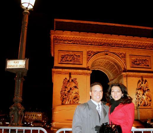 Paris, France: At the Arc