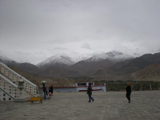 Leh, India: Good Snow tops