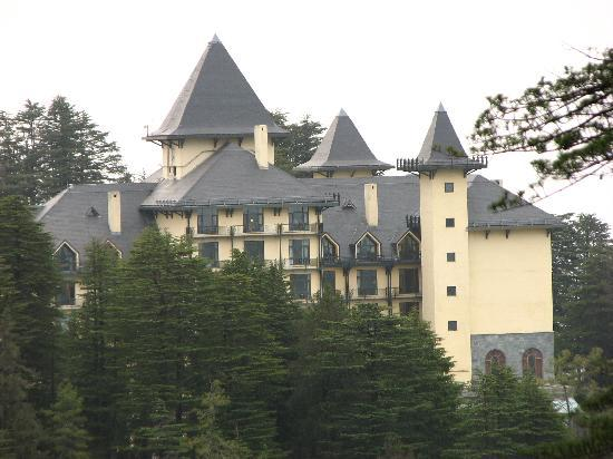 Wildflower Hall, Shimla in the Himalayas: Wildflower hall form the woods