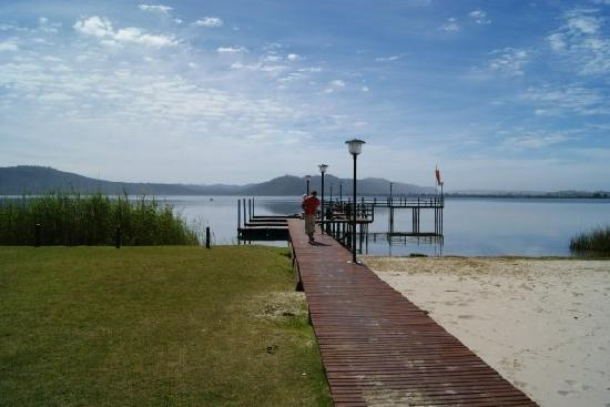 Sedgefield, Sydafrika: The Lake