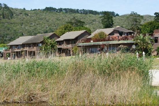Sedgefield, Sydafrika: The accomodation near the lake