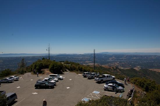 Mount Diablo State Park: Top of the mountain