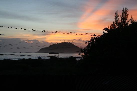 Pousada Natur Campeche: Sonenaufgang vom Zimmer aus