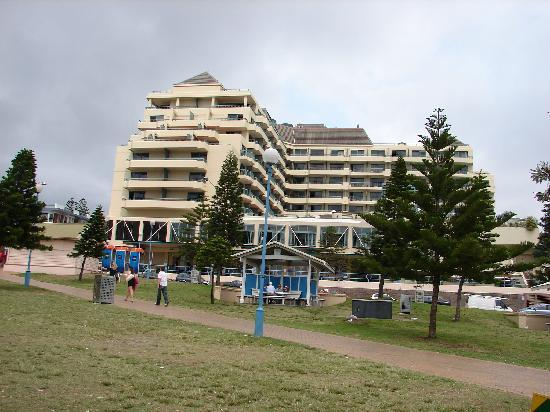 View of Hotel from Coogee Beach