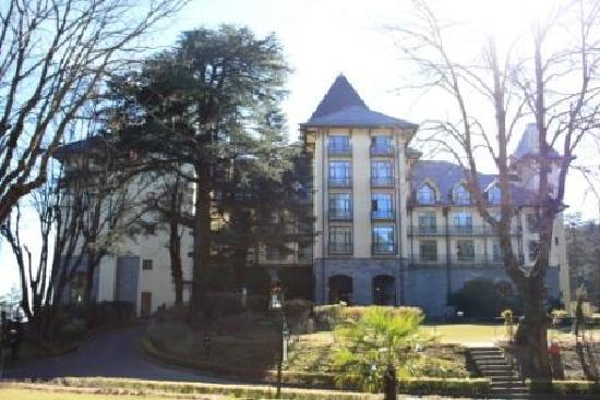 Wildflower Hall, Shimla in the Himalayas: The front