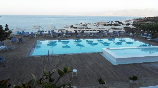 Elounda Ilion Hotel : The Ilion swimming pool