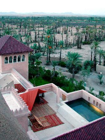 Ksar Char-Bagh: Large Harim suite with private pool