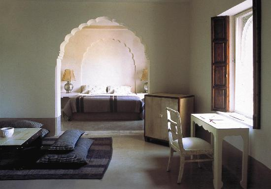 Ksar Char-Bagh: Bedroom in a Harim Suite