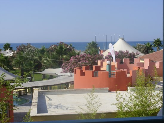 Kaya Belek Hotel: view from the restaurant balcony