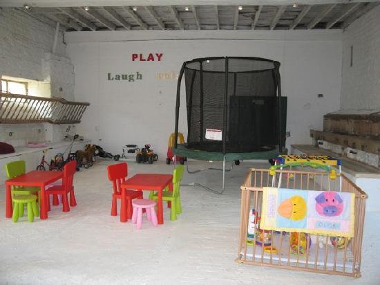La Vieille Abbaye: The indoor play barn
