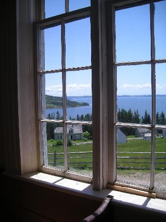 Highland Village: View from the church window