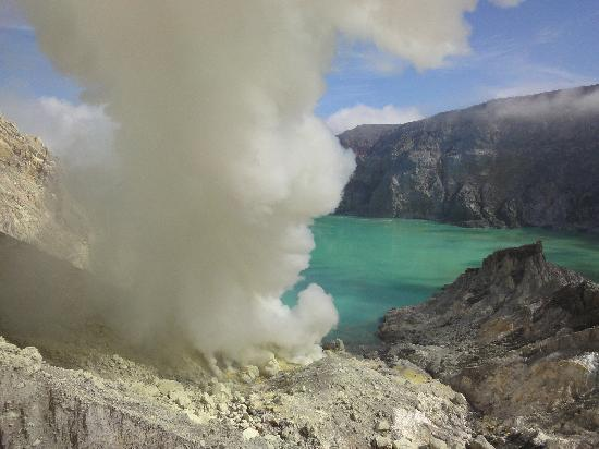 Ijen Resort & Villas : The crater in all its beauty