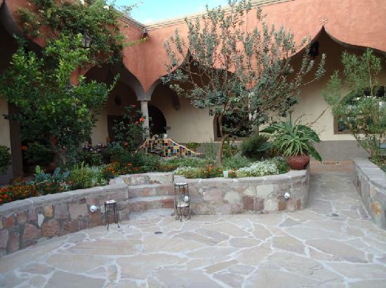 Ex-Hacienda La Petaca: Remodeled interior of ex - Hacienda
