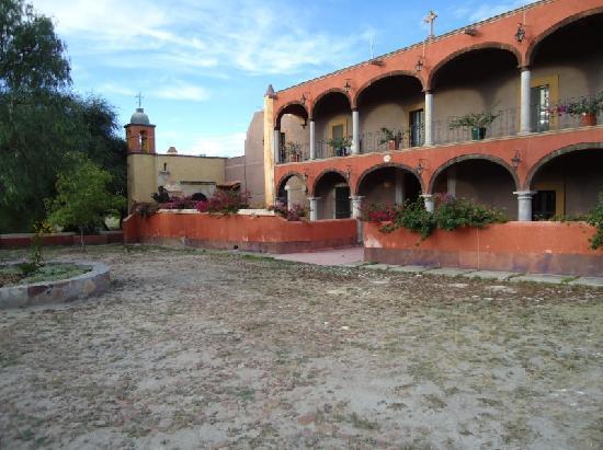 Ex-Hacienda La Petaca: Main Entrance to ex - Hacienda
