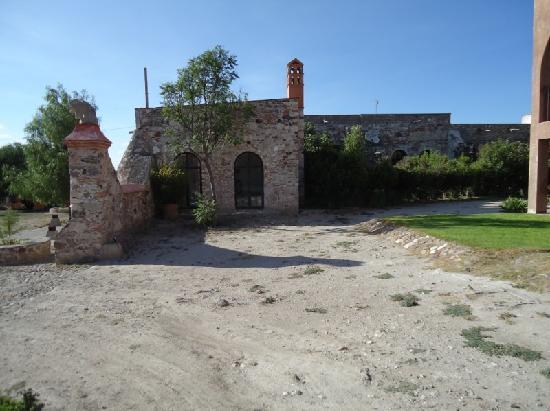 Ex-Hacienda La Petaca: Entrance to the Entire Complex, In Midst of Restoration at La Petaca