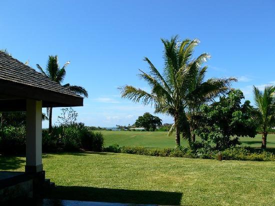 Anahita Golf & Spa Resort: Gazebo und Garten